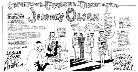 Superman's Favorite Transvestite, Jimmy Olsen