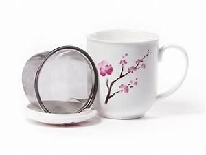 Becher Mit Deckel : shamila becher cherry blossom mit sieb und deckel online bestellen tee einfach online ~ Orissabook.com Haus und Dekorationen