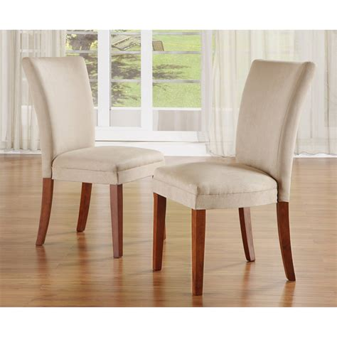 furniture best fabric parson dining chairs for dining