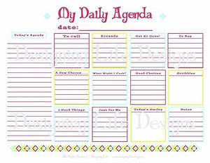template for daily tasks - template template for daily tasks