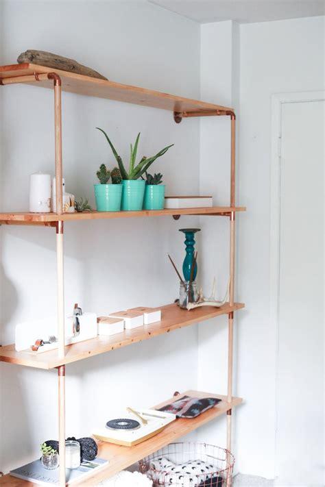 Regal Diy by Diy Copper Wood Shelf Home Decor Copper Wood
