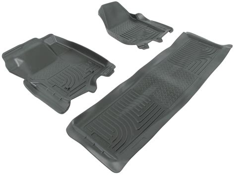 2012 ford f 250 and f 350 super duty floor mats husky liners