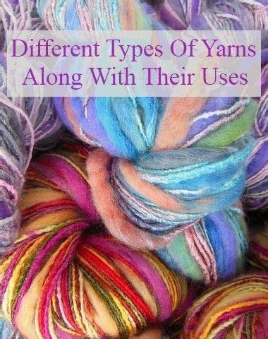 types  yarns     types