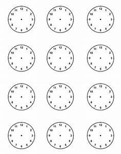 Blank Clock Face | New Calendar Template Site