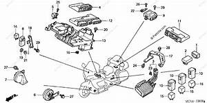 Honda Motorcycle 2003 Oem Parts Diagram For Control Unit