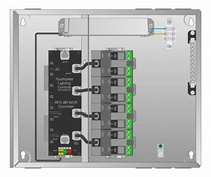 Leviton Dmx 8 Circuit Relay Control Panel Instructions