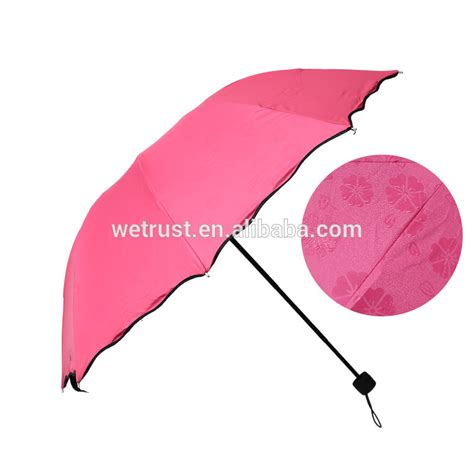 fashion colorful anti uv parasol flower 3 folding sun windproof umbrella buy anti uv