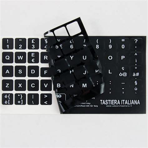 Adesivi Lettere by Tastiera Adesiva Lettere Stickers Tasti Nere Lettere