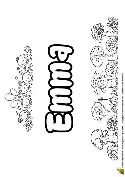 lettre pour cuisine dessin à colorier du prénom version goûter