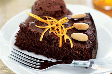 flourless chocolate orange almond cake recipe epicuriouscom