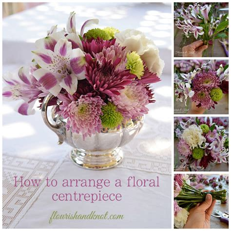 how to arrange flowers how to arrange a floral centrepiece my 100th post