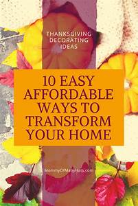 Top, 10, Easy, Affordable, Diy, Ways, To, Transform, Your, Home