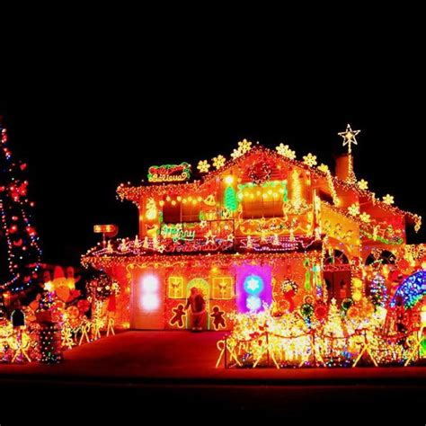 beast  biggest outdoor christmas lights  house decor