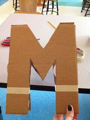 step  cut  letter  card board step  support