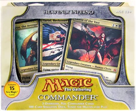 mtg commander decks 2011 magic the gathering commander deck 2011 heavenly