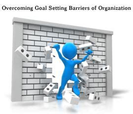 Overcoming Goal Setting Barriers In Organization (six Proven Steps