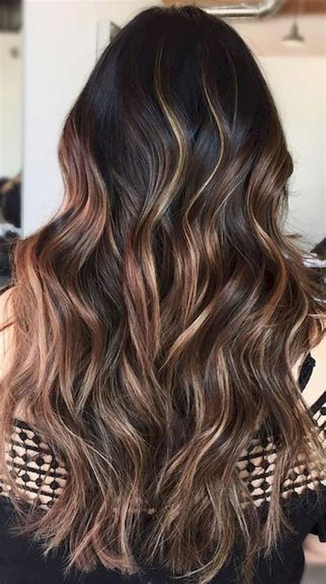 hottest brunette ideas  pinterest balayage