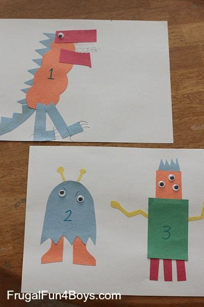 construction paper number creatures kid network 782   dd60b1c01a2f8baffa621c7a83166a79