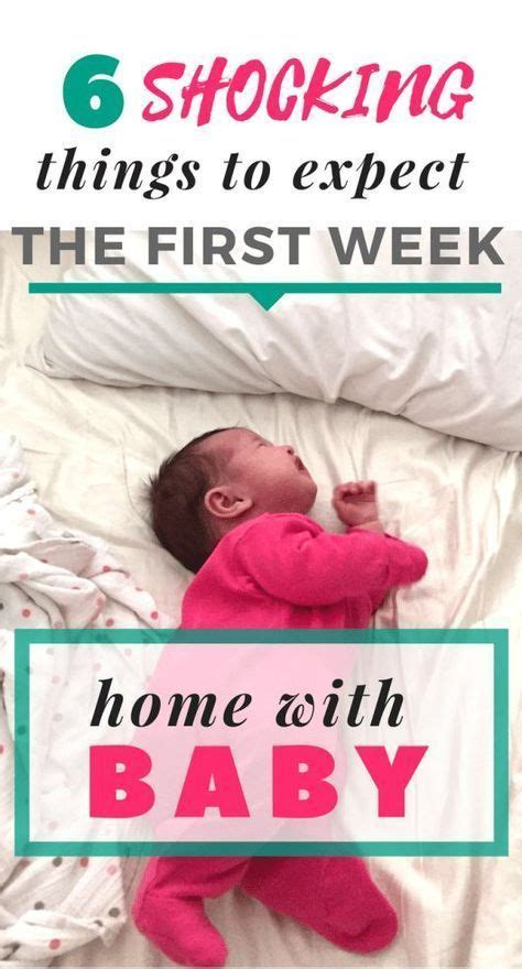 told   expect   week home  baby baby hacks bringing baby
