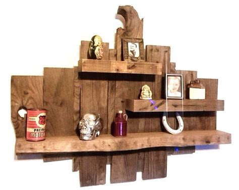 raw wood shelf reclaimed wood shelves rustic wooden
