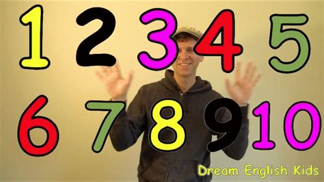 Numbers Song Let's Count 110 New Version Youtube
