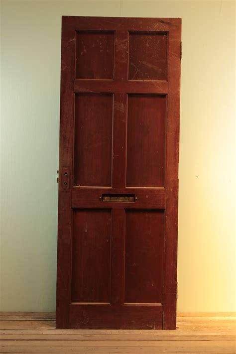 reclaimed  panel pine front door