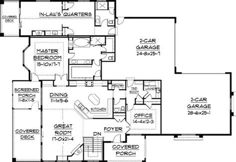 law quarters  floor master suite house plans