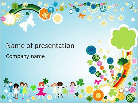Niños Ilustración Plantillas de Presentaciones PowerPoint