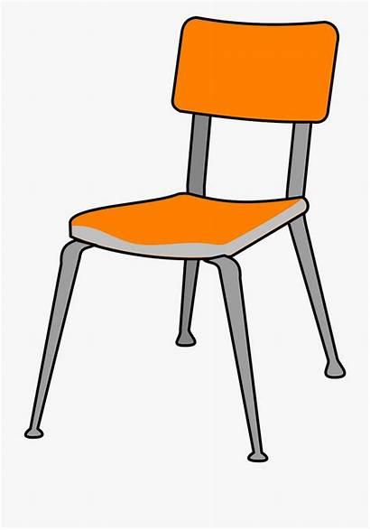 Graphic Furniture Plastic Chair Clipart Pixabay Cartoon