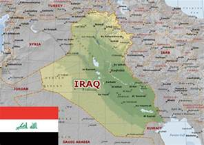 Iraq and Kuwait Map