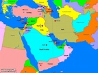 What are the West Asian countries? - Quora