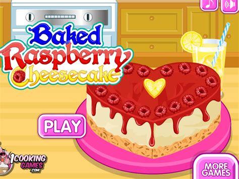 nouveau jeu de cuisine jeu de cheese cake à la framboise