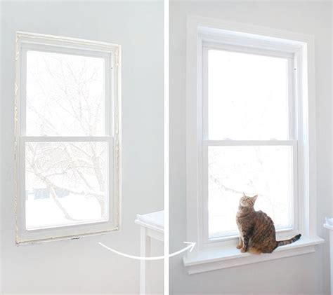 White Window Ledge by One Sill Window Interior Windows Home Upgrades