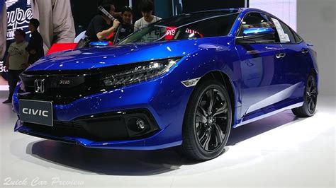 quick preview  honda civic facelift  turbo rs