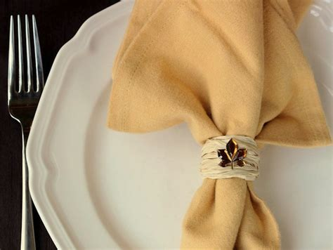 great diy napkin ring ideas   occasion style