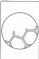 Soccer sketch template