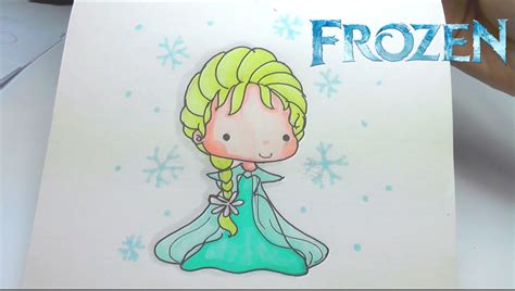 How To Draw Frozen Elsa Step By Step Easy Youtube