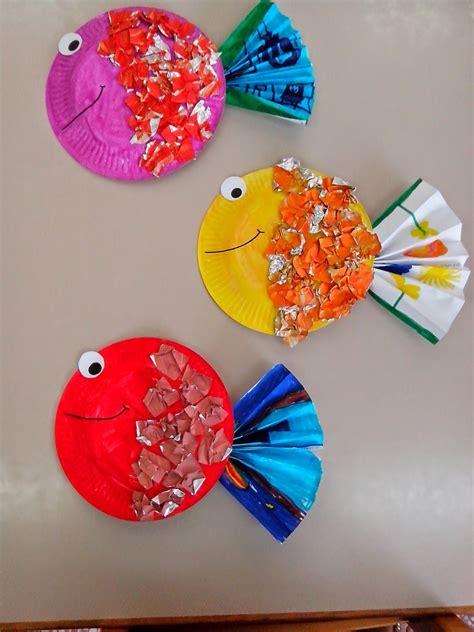 Maro's Kindergarten Tropical Fish Craft  Decor Ideas  Pinterest  Fish Crafts, Tropical Fish