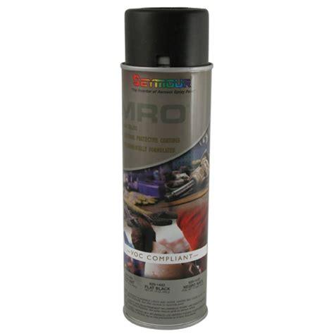 shop seymour flat black indoor outdoor spray paint at