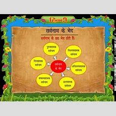 Class 3 Hindi Grammar Ch 8 Pronouns Sarvanam Youtube
