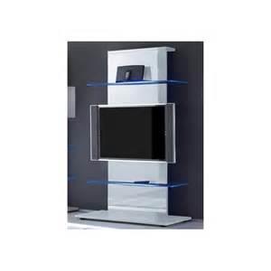 Meuble Tv Haut : meuble tv blanc haut id es de d coration int rieure french decor ~ Teatrodelosmanantiales.com Idées de Décoration