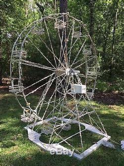 custom  outdoor christmas ferris wheel motorized