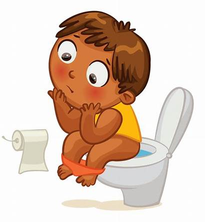 Clipart Potty Kid Clip Nursery Toilet Going