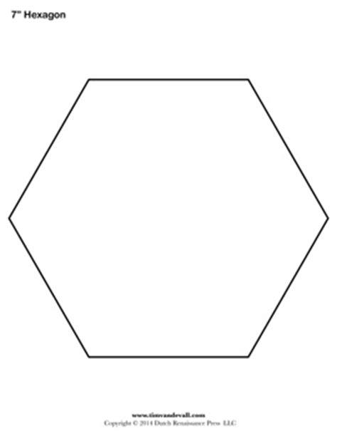 Printable Hexagon Shape Pdfs