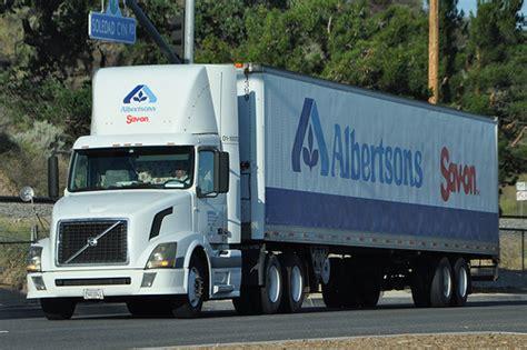 volvo 18 wheeler trucks albertsons savon volvo big rig truck 18 wheeler