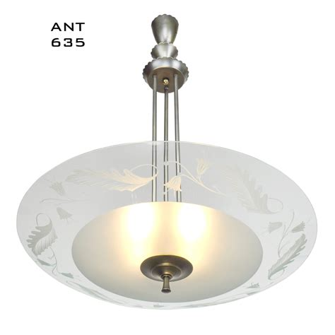 modern vintage lighting midcentury modern vintage chandelier lens bowl ceiling 4238