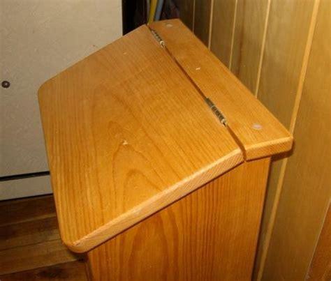 woodworkinghome review  woodworking plans potato bin