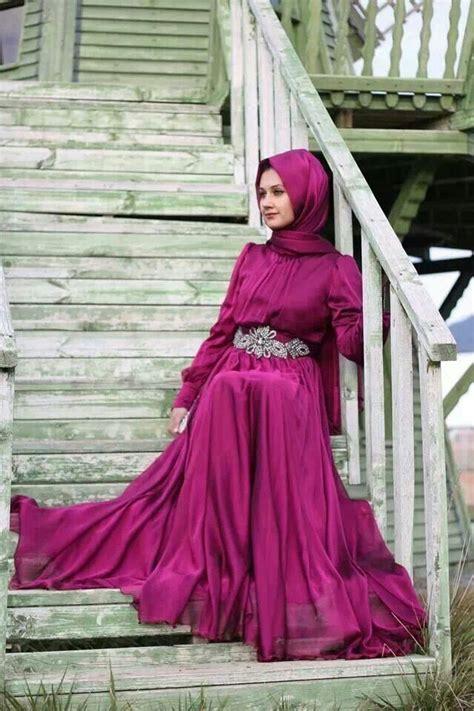 Modest Evening Hijab Dresses For 2015/2016 - HijabiWorld