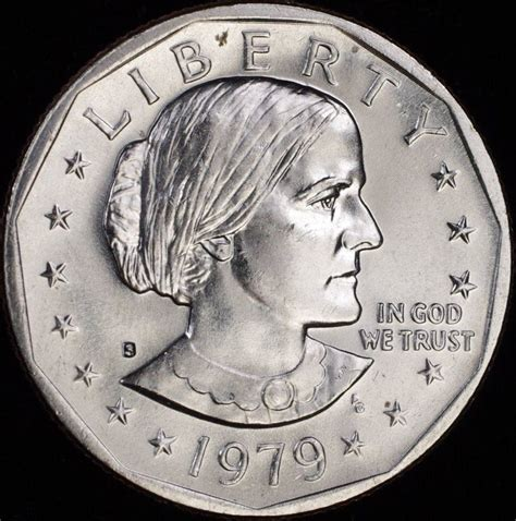 1979 one dollar coin 1979 s susan b anthony quot imperfect uncirculated quot dollar us coin sba discounted ebay