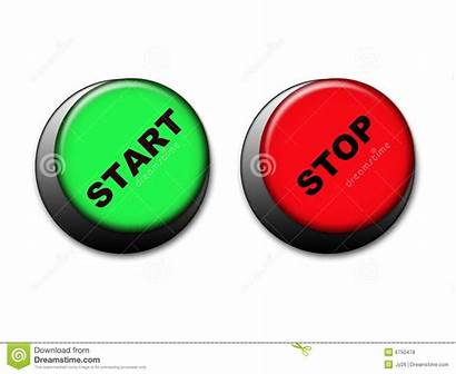 Stop Start Buttons Site Royalty Dreamstime